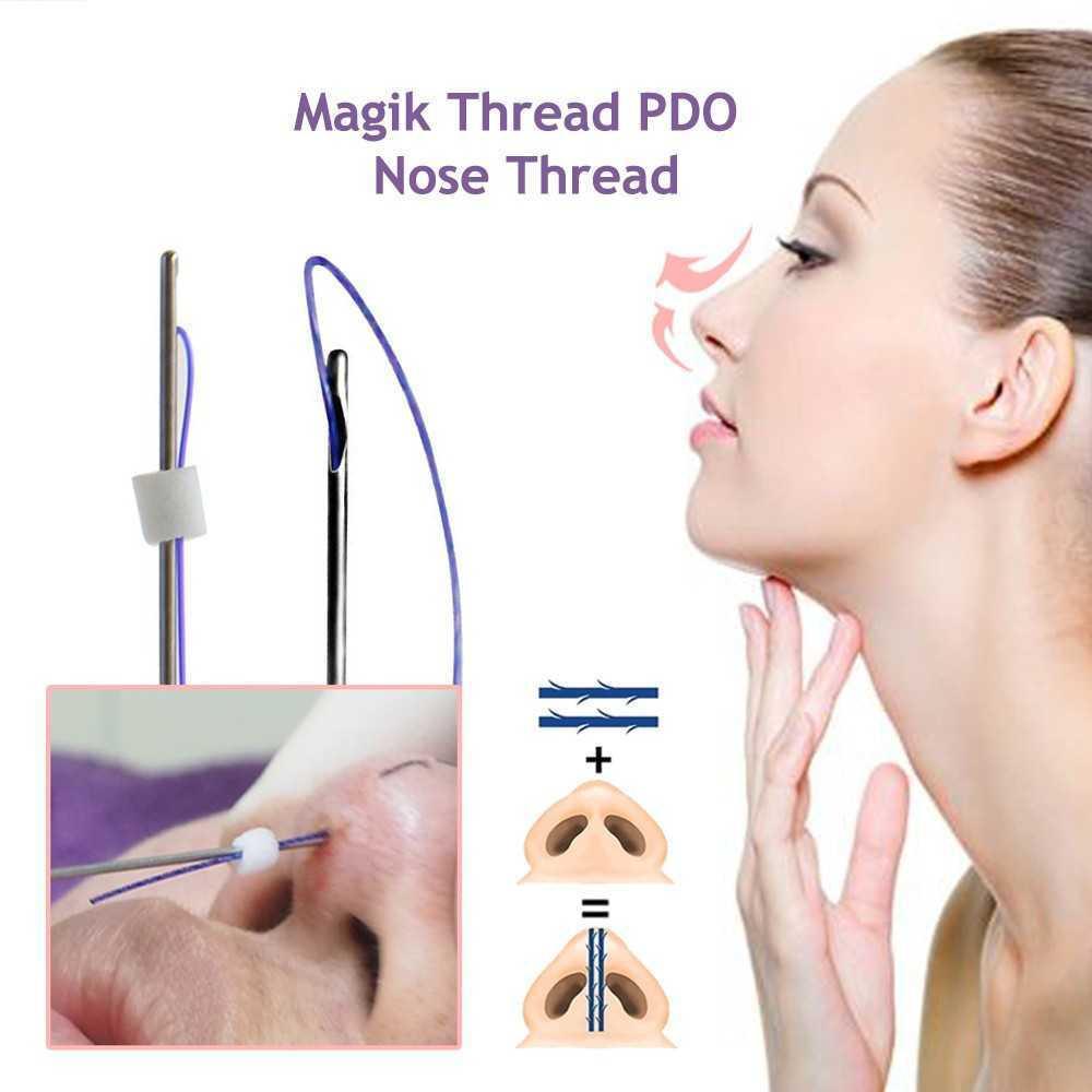 3d PDO thread lift nose up