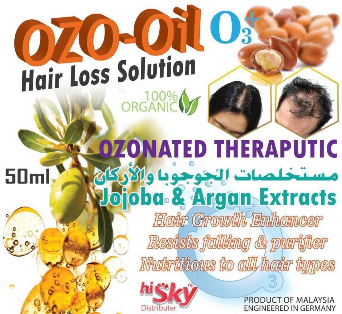 Ozo Oil hairoil