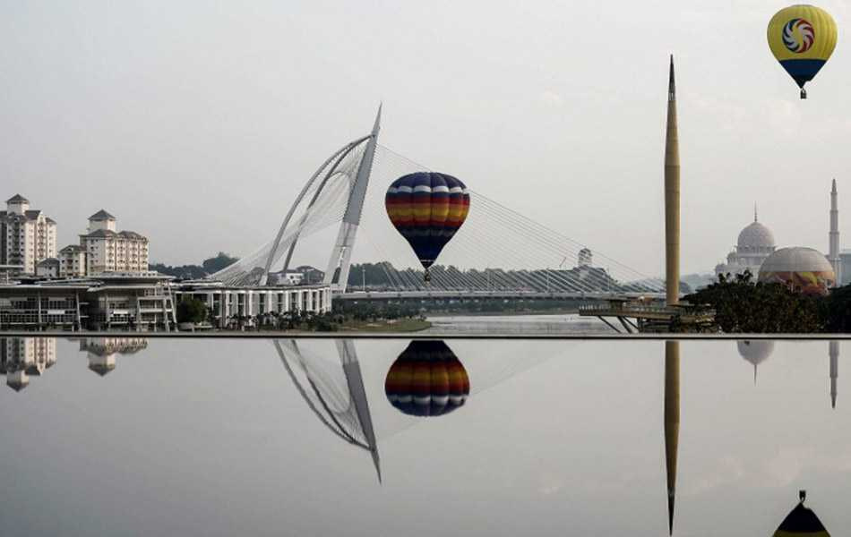 Putrajaya city Balloon