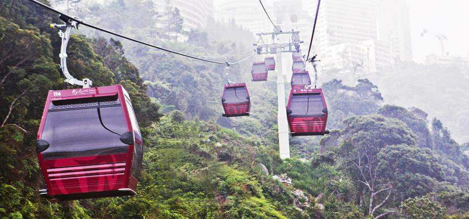 Genting Cable car