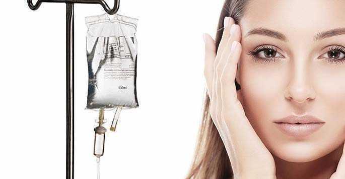 IV Whitening Shining Skin Glutathione03